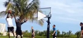 Vidéo : Michael Jordan joue un pick-up game avec Tom Brady aux Bahamas !