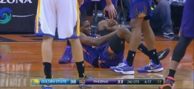 Vidéo : la blessure de Brandon Knight contre Golden State