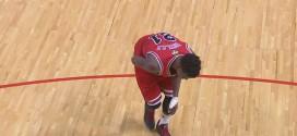 Vidéo les images de la blessure de Jimmy Butler