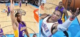 Les highlights du duel Russell Westbrook (27 pts, 11 pds) – Jordan Clarkson (30 pts, 7 pds)