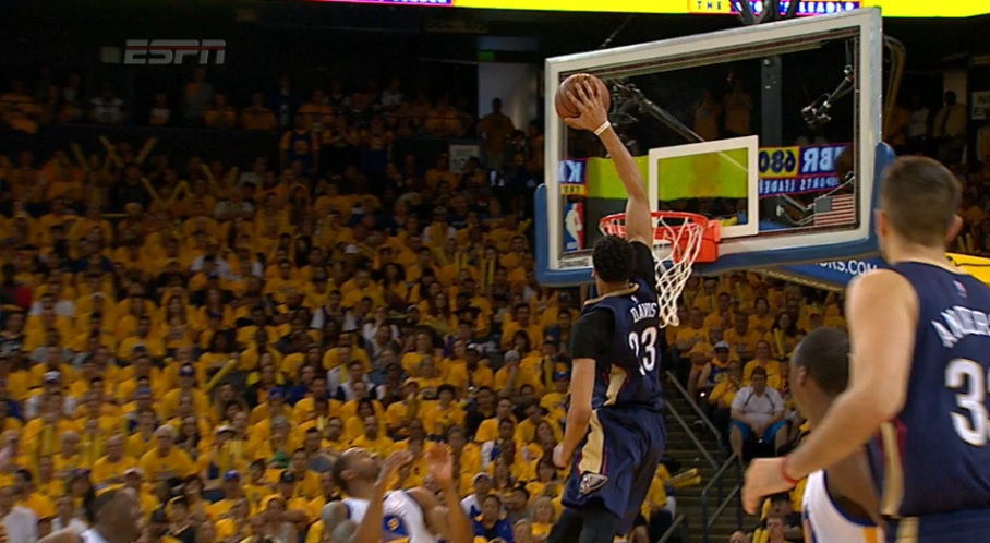 Anthony Davis dunk d