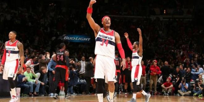 Paul Pierce achève les Raptors pour le 3-0 des Wizards