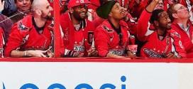 [Vidéo] Les Wizards se détendent devant un match de hockey
