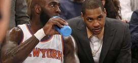 Carmelo Anthony n'assiste pas aux matchs des Knicks de peur de se blesser