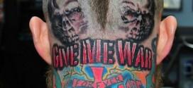 Le nouveau tatouage de Chris Andersen