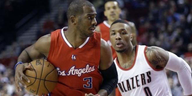 Sous l'impulsion d'un énorme Chris Paul,les Clippers remontent 19 points à Portland