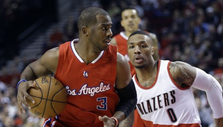 Chris Paul et Damian Lillard