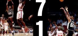 Il y a 21 ans David Robinson inscrivait 71 points pour décrocher le titre de meilleur scoreur