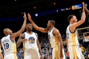 Les Warriors terminent sur une victoire dans une orgie offensive