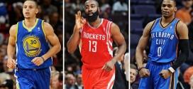 Les leaders statistiques de la saison NBA 2014-15