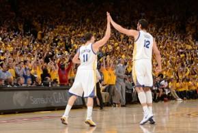 Les Warriors font le break dans la douleur