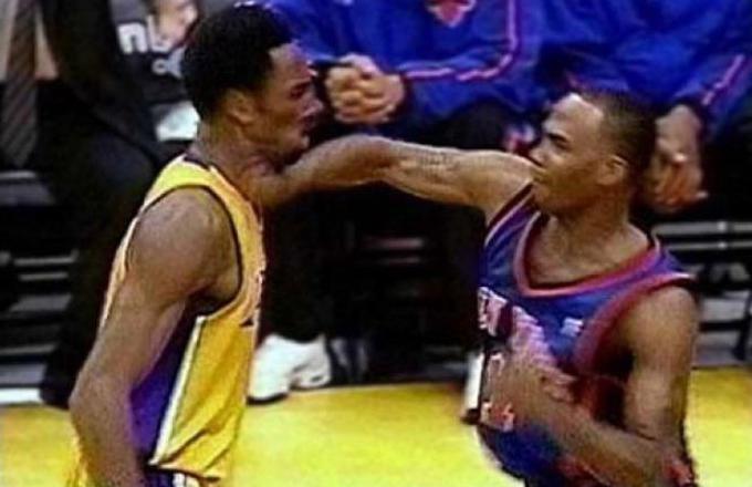Kobe Bryant et Chris Childs