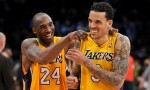 Kobe Bryant et Matt Barnes