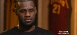 LeBron James: ce qui me fait un peu peur c'est le manque d'expérience de certains joueurs