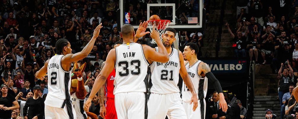 San Antonio Spurs, Tim Duncan, Boris Diaw Kawhi Leonard