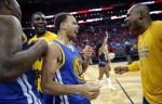 Stephen Curry Warriors Pelicans