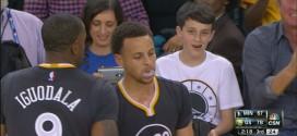 Les highlights de Stephen Curry face aux Wolves: 34 points et 7 passes