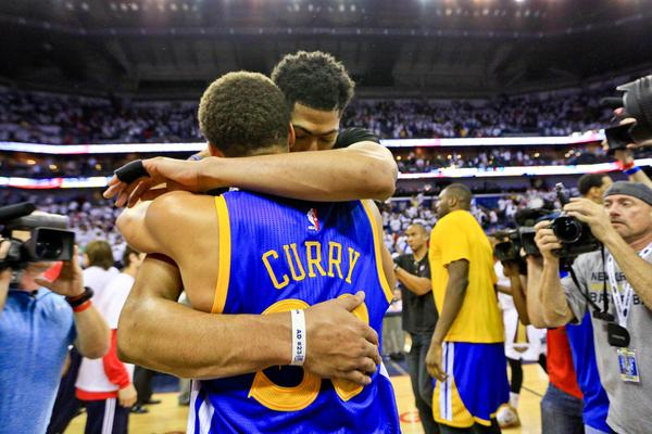 Stephen Curry et anthony Davis