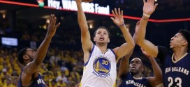 Stephen Curry et les Warriors assurent l'essentiel face aux Pelicans