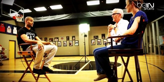 [Vidéo]Tony Parker : L'interview par beIN Sports