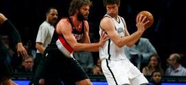 Les highlights de Brook Lopez face aux Blazers: 32 points et 9 rebonds