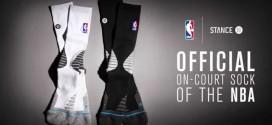 Chaussettes: Stance nouveau partenaire de la NBA