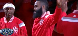 Les highlights du duo James Harden (30 pts, 7 asts) – Dwight Howard (19 pts, 11 rebds, 3 ctrs)