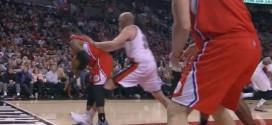 Vidéo : Chris Kaman balance Chris Paul par terre et cela dégénère