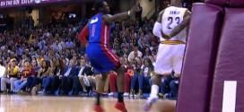 La passe aveugle géniale de LeBron James pour Timofey Mozgov