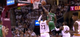 Le chase-down block de LeBron James sur Isaiah Thomas