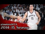 Les highlights de Brook Lopez (26 pts, 10 rbds, 4 ctrs) et Bojan Bogdanovic (15 pts)