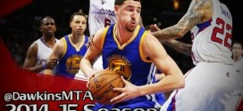 Les highlights de Klay Thompson face aux Clippers: 25 points dont 22 en seconde mi-temps