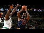 Les highlights de LeBron James (27pts, 10 rebds, 8 asts) et Kyrie Irving (24 pts, 11 rbds)