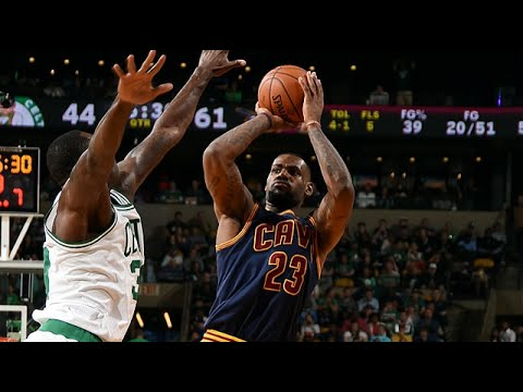 Les highlights de LeBron James (27pts, 10 rebds, 8 asts) et Kyrie Irving (24 pts, 11 rbds)