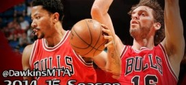 Les highlights de Pau Gasol (16 pts, 15 rbds) et Derrick Rose (12 pts)