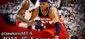 Les highlights de Paul Pierce face aux Raptors: 20 points à 7/10