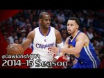 Les highlights du duel Stephen Curry (27 pts) – Chris Paul (27 pts, 9 asts)