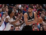 Les highlights du duel Tim Duncan (21 pts, 11 bds) – Blake Griffin (30 pts, 14 rbds, 7 asts)