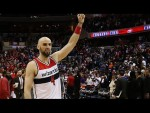 Les highlights du duo Marcin Gortat (24 pts, 13 rbds, 5 asts, 4 ctrs) – John Wall (19 pts, 15 asts)