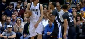 Vidéo : le coup bas de Shaun Livingston sur Dirk Nowitzki