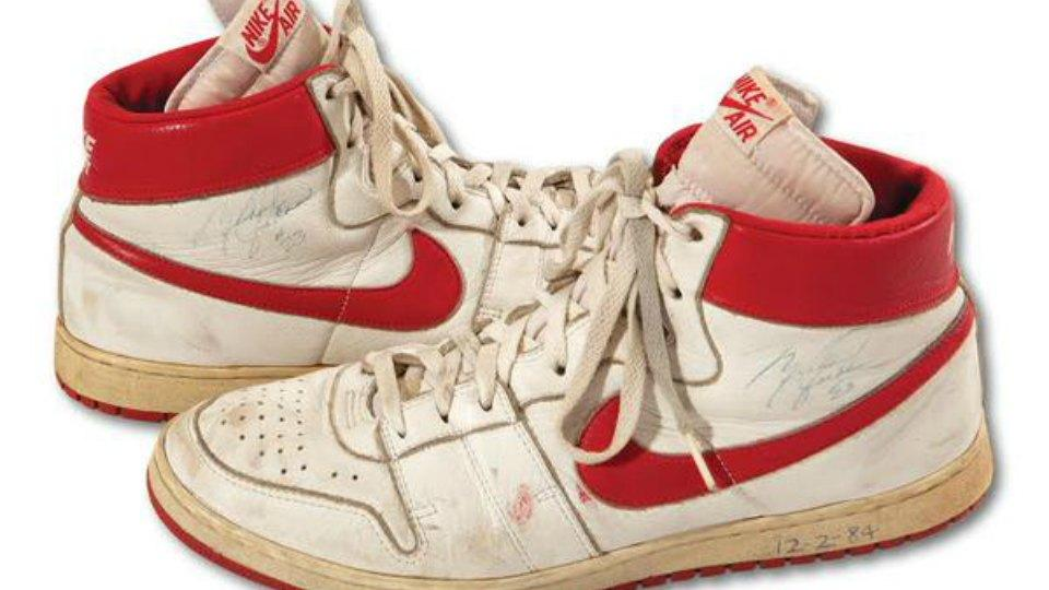 michael-jordan-game-worn-rookie-shoe-auction