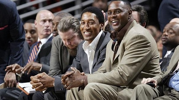 scottie pippen horace grant