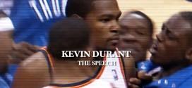 Vidéo: Kevin Durant – «The Speech»