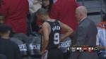 [Vidéo] Tony Parker touché à la cheville