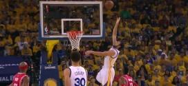 Alley oop : Stephen Curry lance Andrew Bogut