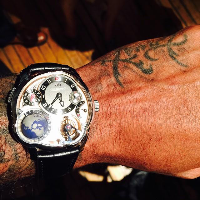 Carmelo Anthony dévoile sa montre à 565 000 $