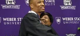Damian Lillard diplômé