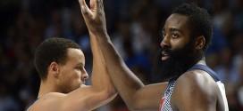 Stephen Curry vs James Harden, duel au sommet
