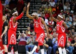Josh Smith, Corey Brewer et Jason Terry