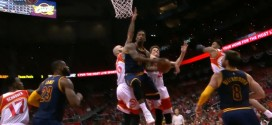 Le superbe layup de Jr Smith